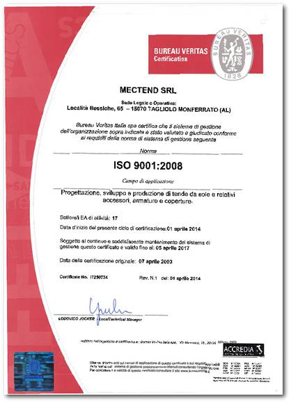 MECTED ISO 9001